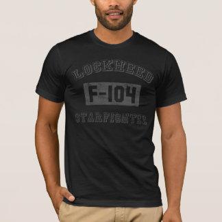 Flygplant-skjorta för F-104 Starfighter T Shirt