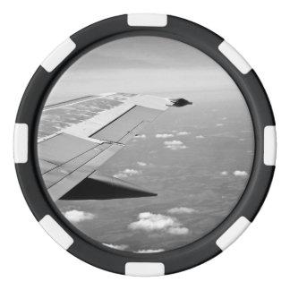 Flygplanvinge Poker Marker