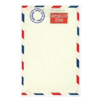 flygpost brevpapper