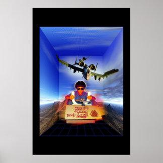 Flygsimulator Poster