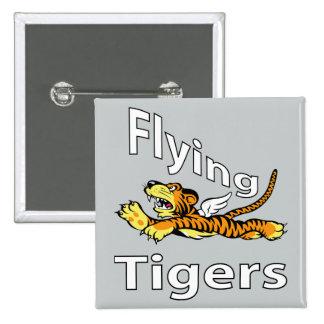 Flygtigrar - bevingad tiger standard kanpp fyrkantig 5.1 cm