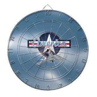 Flygvapen för Amerika jetkämpe Darttavla