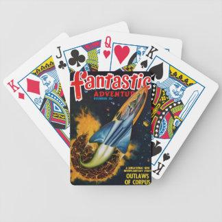 Flykt från det exploderande planet spelkort