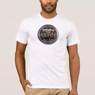 Flykten kläcka tänder T-tröja T-shirt