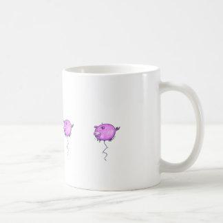 Flyta grismuggen kaffemugg