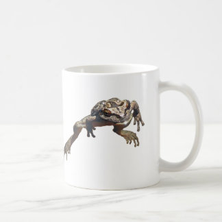 Flyta grodamuggen kaffemugg