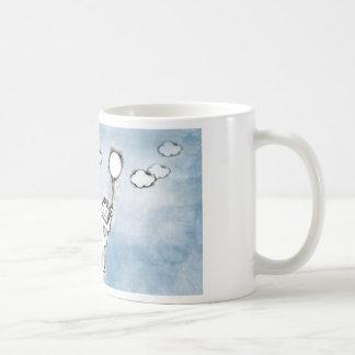 Flyta roboten kaffemugg