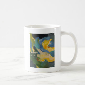 Flytande deppighet kaffemugg