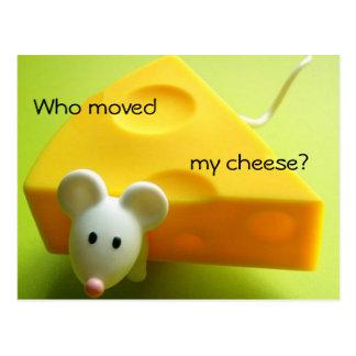 Flyttat vem min ost? vykort