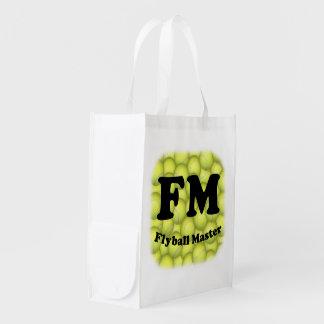 FM ledar- Flyball Återanvändbar Påse