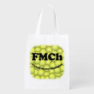 FMCh Flyball ledar- mästare 15.000 pekar Återanvändbar Påse