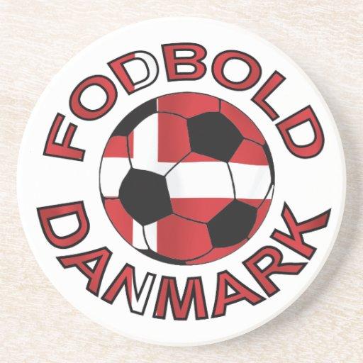 Fodbold Danmark fotboll Danmark Dryck Underlägg