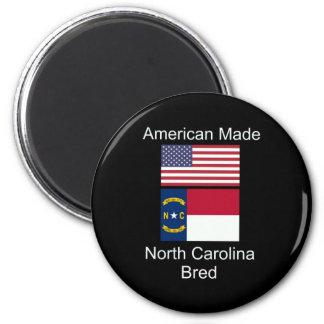 """""""Född amerikan. North Carolina födde upp"""" Magnet"""