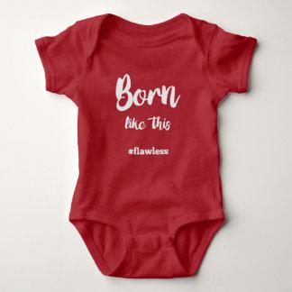 Född något liknande detta t shirt