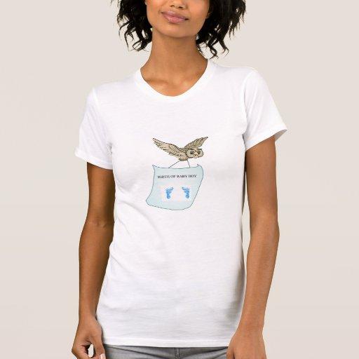 Född pojke t-shirt