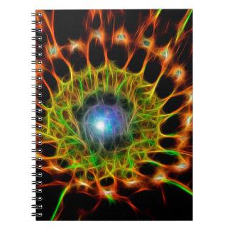Födelse av en Star.jpg Anteckningsbok Med Spiral