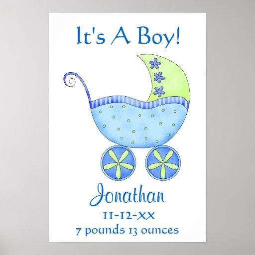 Födelse för namn för baby med hjärtfelBuggypojken