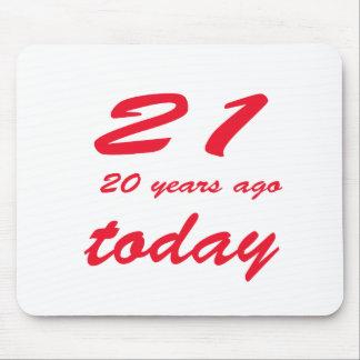 födelsedag 41 musmatta