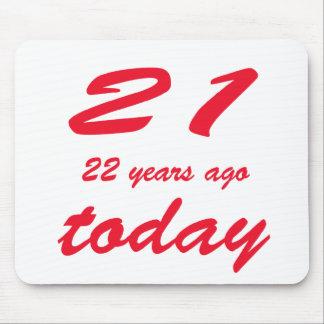 födelsedag 43 musmatta