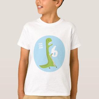 Födelsedag för 6e för skjorta | för T-Rex Tee