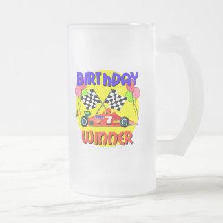 födelsedag för bil för 7:efödelsedagtävling kaffe kopp