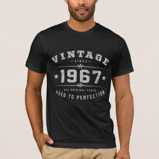 Födelsedag för vintage 1967 tee