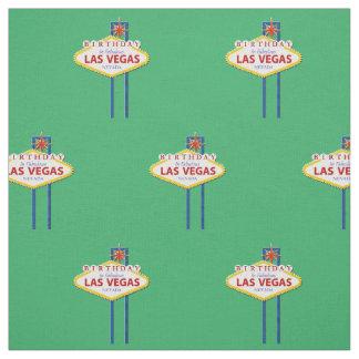 Födelsedag i Las Vegas tyg