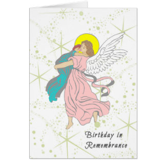 Födelsedag i minnekortet för småbarn hälsningskort