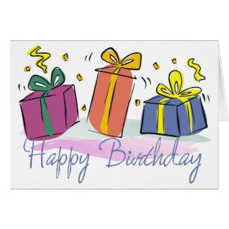 Födelsedag-Presenter-Pojke Hälsningskort