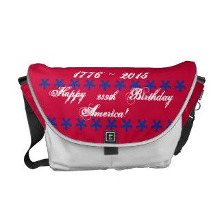 FödelsedagAmerika för lycklig 239. messenger bag