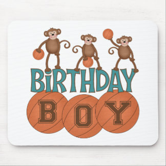 Födelsedagbasketpojke Musmattor