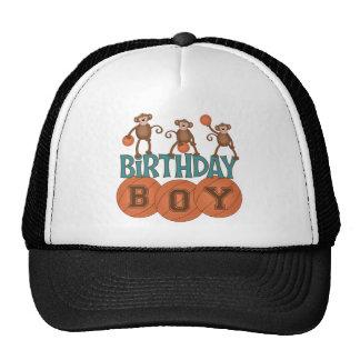 Födelsedagbasketpojke Trucker Kepsar