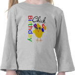 Födelsedagchick 5 gammala år tee shirts