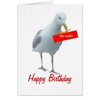 Födelsedagdagkort någon person hälsningskort