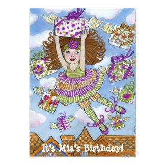 Födelsedagen framlägger inbjudan