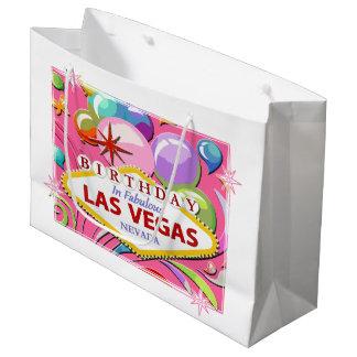 FÖDELSEDAGEN i den sagolika Las Vegas gåvan hänger
