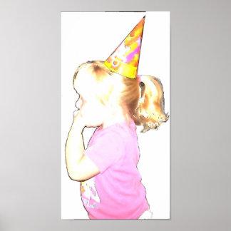Födelsedagflicka Affischer