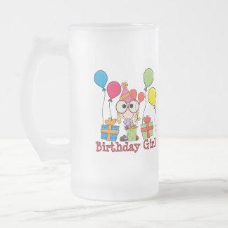 Födelsedagflicka Frostad Glas Mugg