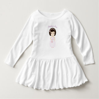 Födelsedagflicka på gåvabord t shirts