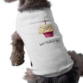 Födelsedagflickamuffin Husdjurströja