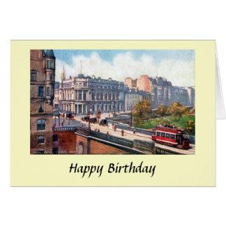 Födelsedagkort - Aberdeen, Skottland Hälsningskort