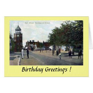 Födelsedagkort - Burnham-på-Hopkrupen ställning, Hälsningskort