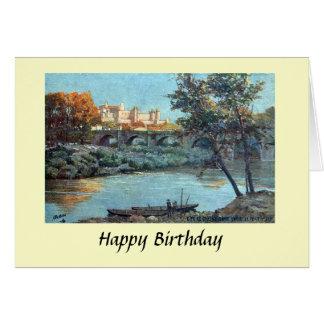 Födelsedagkort - Carcassonne, Aude, frankrike Hälsningskort