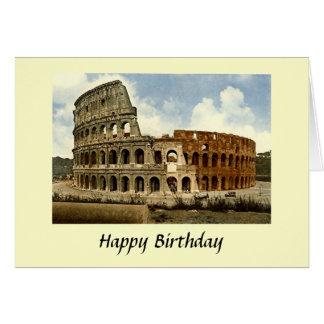 Födelsedagkort - Colosseum, Rome Hälsningskort