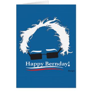 Födelsedagkort för någon Bernie Hälsningskort