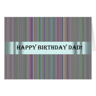 Födelsedagkort för s-sakkunnigpappa hälsningskort