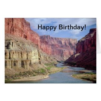 Födelsedagkort med grand Canyonskämt Hälsningskort