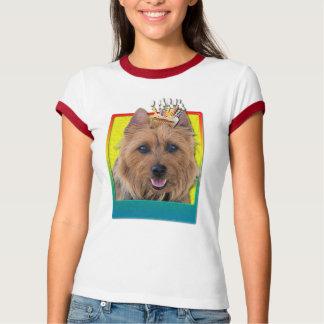 Födelsedagmuffin - australiensisk Terrier T-shirts