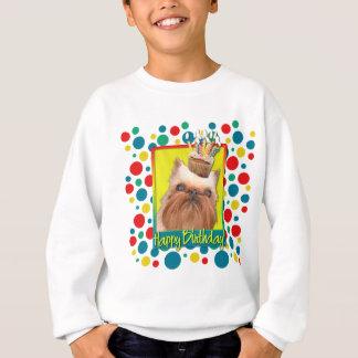 Födelsedagmuffin - Bryssel Griffon Tee Shirt