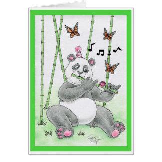 FödelsedagPandabjörn Hälsningskort